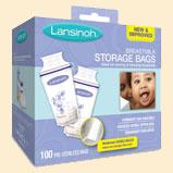 lansinoh milk bags